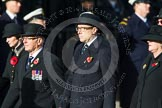 Remembrance Sunday at the Cenotaph in London 2014: Members of the Royal British Legion (?) leading the March Past. Press stand opposite the Foreign Office building, Whitehall, London SW1, London, Greater London, United Kingdom, on 09 November 2014 at 11:37, image #10