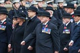 Remembrance Sunday at the Cenotaph 2015: Group B1, Reconnaissance Corps (Anniversary). Cenotaph, Whitehall, London SW1, London, Greater London, United Kingdom, on 08 November 2015 at 11:36, image #13