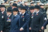 Remembrance Sunday at the Cenotaph 2015: Group B1, Reconnaissance Corps (Anniversary). Cenotaph, Whitehall, London SW1, London, Greater London, United Kingdom, on 08 November 2015 at 11:36, image #14
