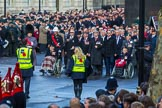 during Remembrance Sunday Cenotaph Ceremony 2018 at Horse Guards Parade, Westminster, London, 11 November 2018, 10:41.